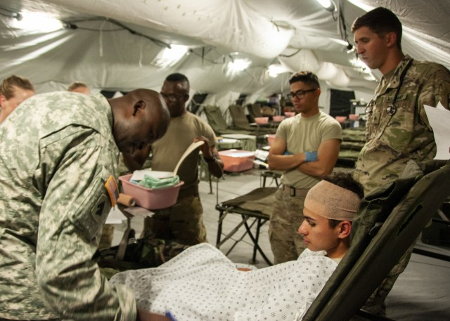 Army's updated field hospital tested at Fort Bliss