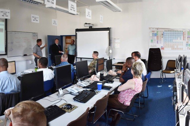 ANSBACH, Germany -- The Ansbach Emergency Operations Center (EOC) on Barton Barracks coordinates support for first responders from the Ansbach Fire and Emergency Services Team as well as police. During the garrison's annual Emergency Exercise 2018 Wednesday, August 22. The exercise was centered around the discovery of potentially lethal parcels, placed by terrorists at high traffic public areas on post. The EOC coordinates and directs action to support mitigation activities and neutralize terrorist threats (or assist in recovery in the event of natural disasters). The goal of the exercise is to test and access the garrisons' emergency response procedures and prepare teams and individuals for similar real-world events. To learn more about the people and facilities of the U.S. Army Garrison Ansbach (USAG Ansbach) and the people they support in Ansbach, Katterbach and Illesheim, visit the community website at http://ansbach.army.mil