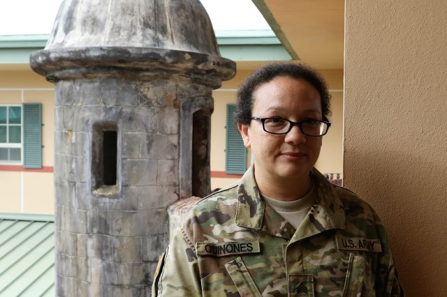 "Sgt. Elamar Quiñones, a Personnel Administration Specialist assigned to the 271st Human Resources Company, was among the beneficiaries of the Army Emergency Relief program during the emergency created by Hurricane Maria. ""I was mobilized during the emergency. However, my military pay was delayed. That is when I went to AER and requested their assistance. I received a zero interest loan that allowed me to pay my basic expenses, until my regular military pay kicked off,"" said Quiñones."