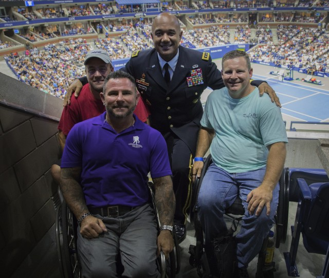 USMA visits the U.S. Open