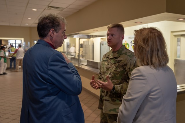 A team of nutrition specialist from Texas A&M University Agriculture and Life Science department met with leaders from across III Corps and the Joint Culinary Center of Excellence, Aug. 27 at Fort Hood, Texas, to build a relationship to improve the nutritional readiness of III Corps Soldiers.