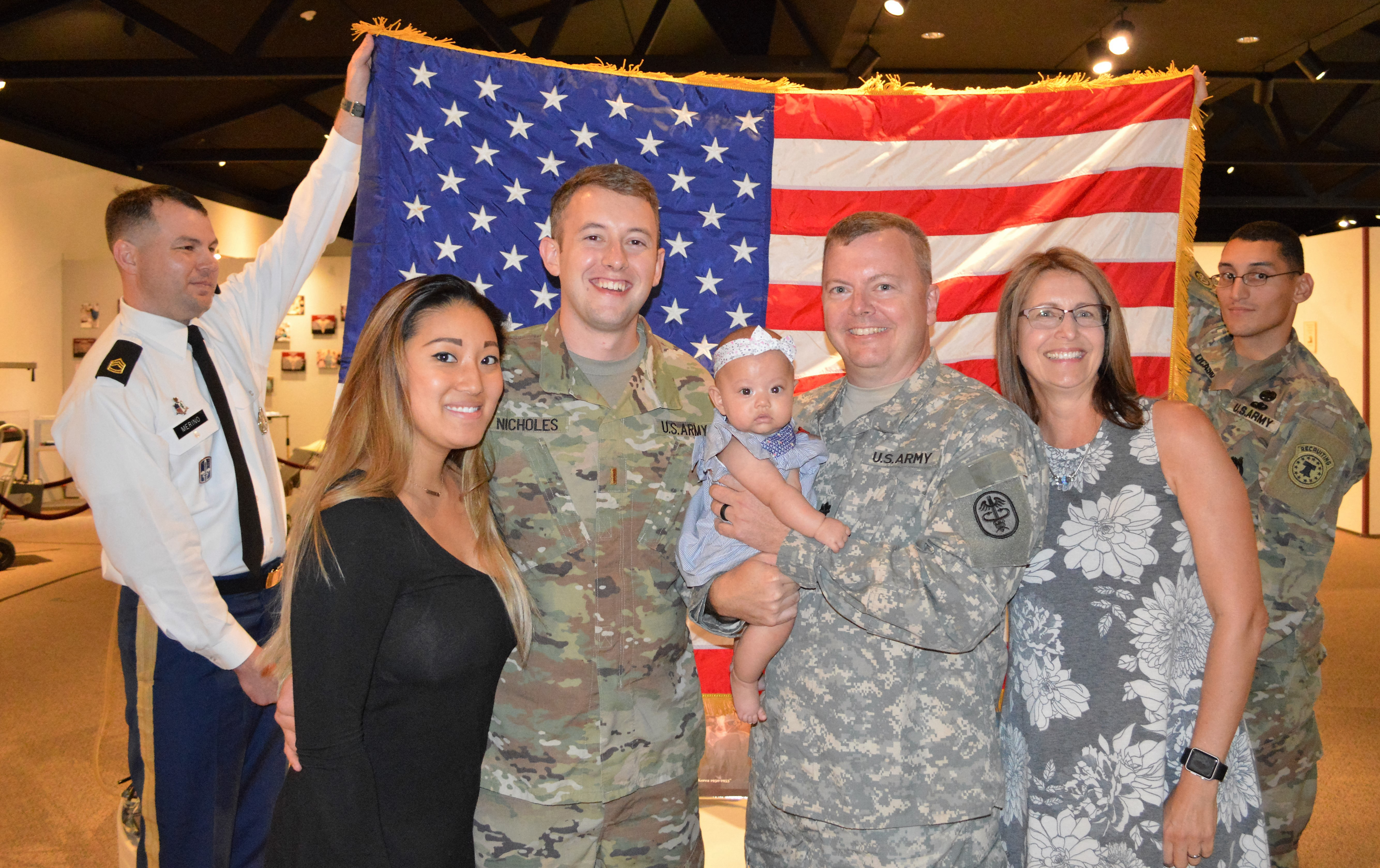 ER physician returns to Army service following son's lead