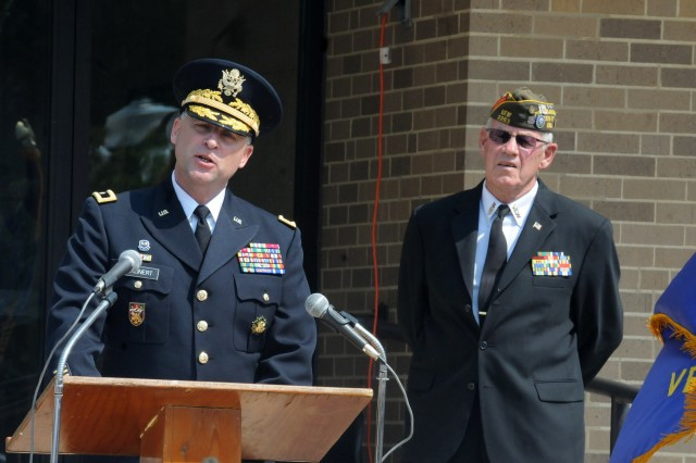 Maj. Gen. Patrick J. Reinert is currently serving as the commanding general of the U.S. Army Reserve's 88th Readiness Division headquartered at Fort McCoy, Wisconsin. He will retire in December 2018 after more than 35 years of Army service.