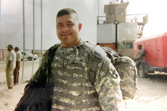 Maj. Jason Edwards served on a deployment to Kandahar, Afghanistan. During his 22-year career, Edwards also deployed in several joint contingency operations in Kosovo, Japan and Iraq.