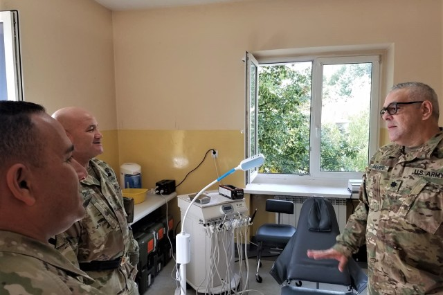 The Puerto Rico National Guard 181st Area Support Medical Company is currently in Poland as part of Operation Atlantic Resolve Actions, where it operates a health care center to provide support to US troops in Poland and nearby countries.