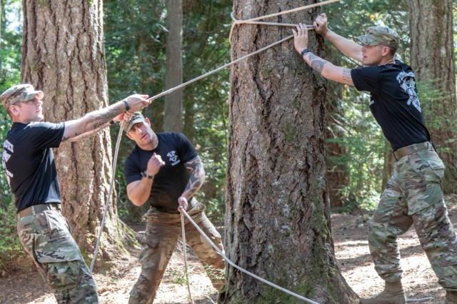 4-23 Infantry take on Boy Scout's Thunderbird Challenge