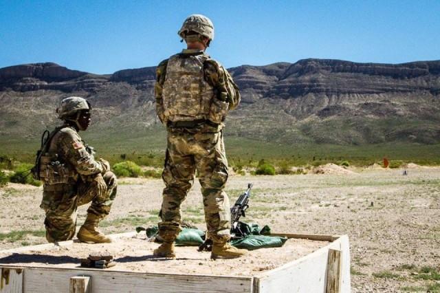 Bulldog Brigade Infantry train to standard