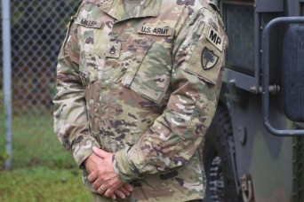 A time of emergency means it's time to serve for this South Carolina National Guardsman