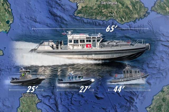 The Tunisian navy received 22 Response boats, ranging in size from 25 to 44 feet, between 2010 and 2013. These new vessels replaced the navy's aging small boats, which had been used for patrolling, search and rescue and interdiction.