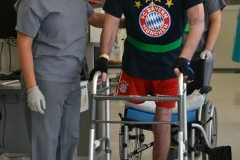 LRMC miracle patient making strides