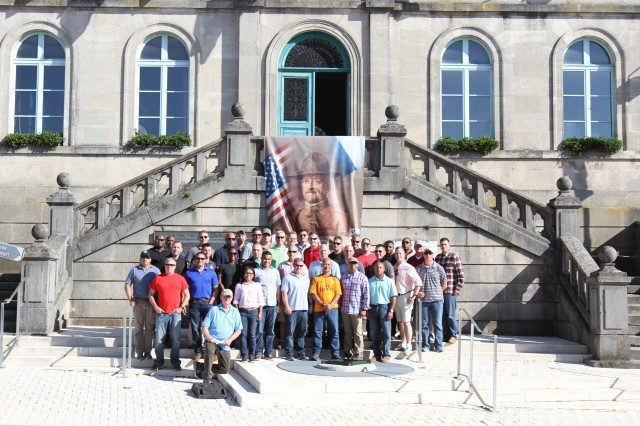"10th AAMDC Visits Gen. John J. ""Black Jack"" Pershing's Headquarters"