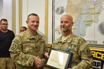 Belanger honored for service in Afghanistan