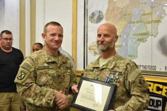 Belanger honored for service in Afghanistan