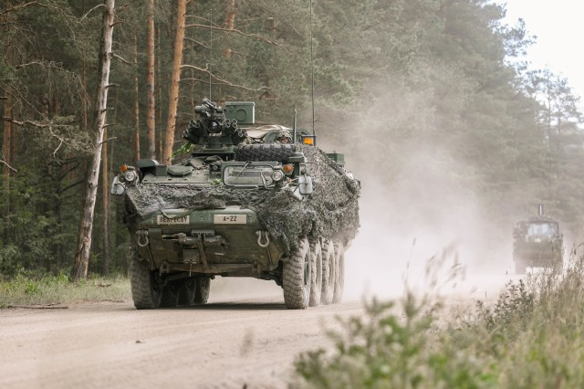 Stryker Infantry Carrier Vehicle