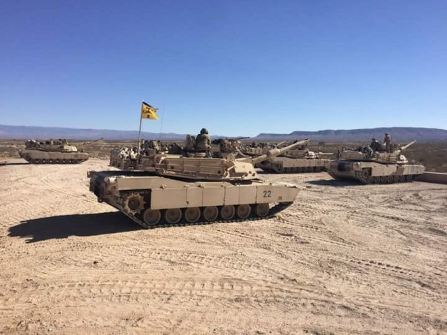 The Army will convert 1st Brigade Combat Team, 1st Armored Division from a Stryker to an Armored Brigade Combat Team