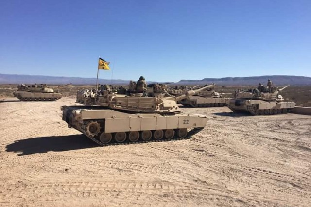 Today the U.S. Army announced the conversion of a 1st Brigade Combat Team, 1st Armored Division stationed at Fort Bliss, Texas providing the nation a 16th ABCT and bringing the total number BCTs in the Regular Army (RA) and Army National Guard (ARNG) to 58.