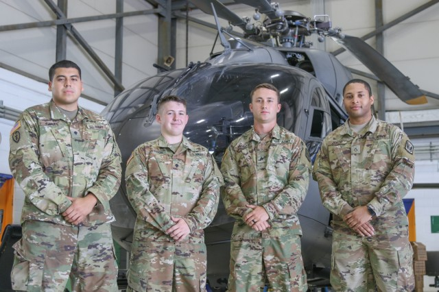 Aircraft mechanics with the North Carolina Army National Guard Detachment 1, Bravo Co., 2nd 151st Aviation Regiment, supports Hurricane Florence relief efforts by maintaining UH-72A Lakota Light Utility Helicopters. Maintaining aircrafts ensures the support and security crew is able to fly search missions to help individuals in flooded areas of North Carolina following the aftermath of Hurricane Florence.