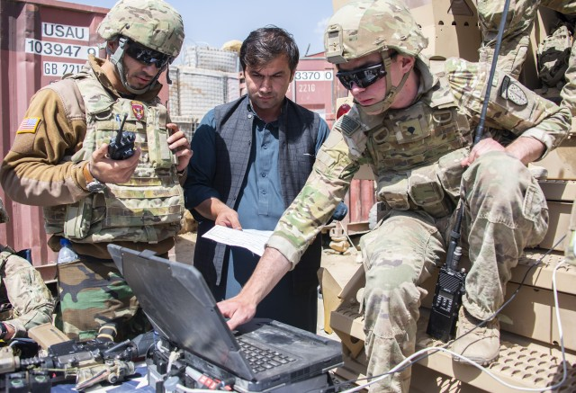 In Afghan-led missions, SFAB Soldiers accompany partners, assist when needed
