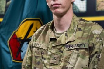 Army Values, combat helmet take down potential gunman in Alabama