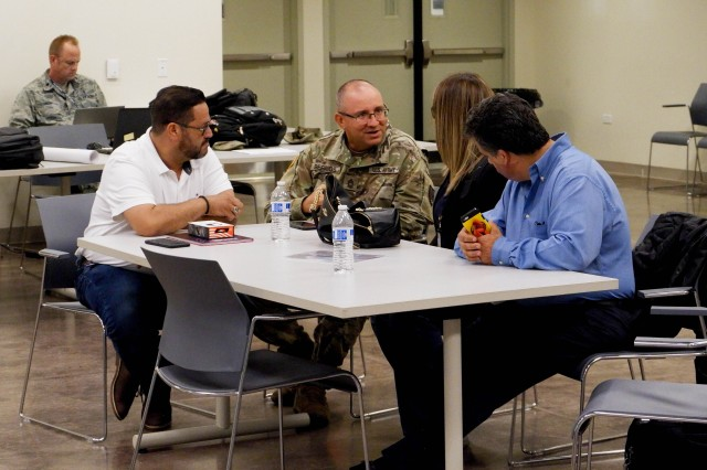 """A year after Hurricane Maria struck the Island, the Puerto Rico National Guard, along with Federal and State agencies, and National Guards from other states gathered at Fort Buchanan in Guaynabo, Puerto Rico, Sept. 18-19 to coordinate and prepare details for """"Vigilant Guard 2019"""" which will occur March of next year."""