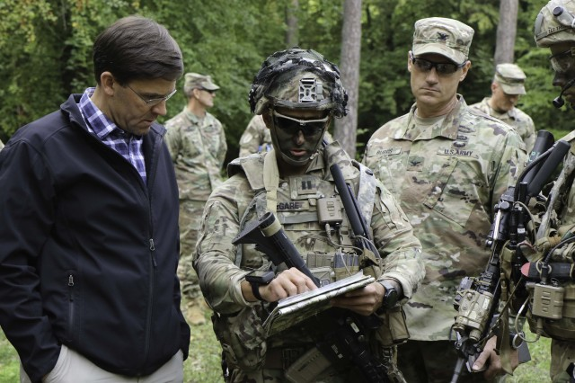 Secretary of the Army visits former unit at multinational Saber Junction exercise