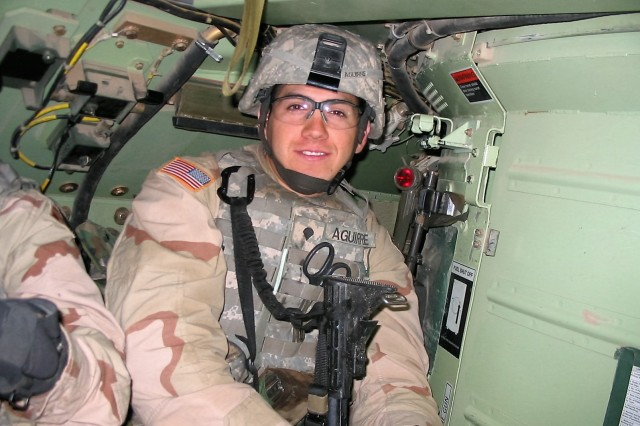 Cpl. Nathaniel A. Aguirre, an airborne combat medic with the 4th Infantry Division, was killed in Baghdad, Iraq, Oct. 22, 2006. His mother, Mary Aguirre-Garza will be honored along with others who lost military loved ones in combat during Gold Star Mother's and Family's Day, Sept. 30.