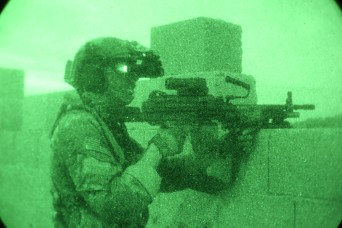 New Army technology guides Soldiers in complete darkness