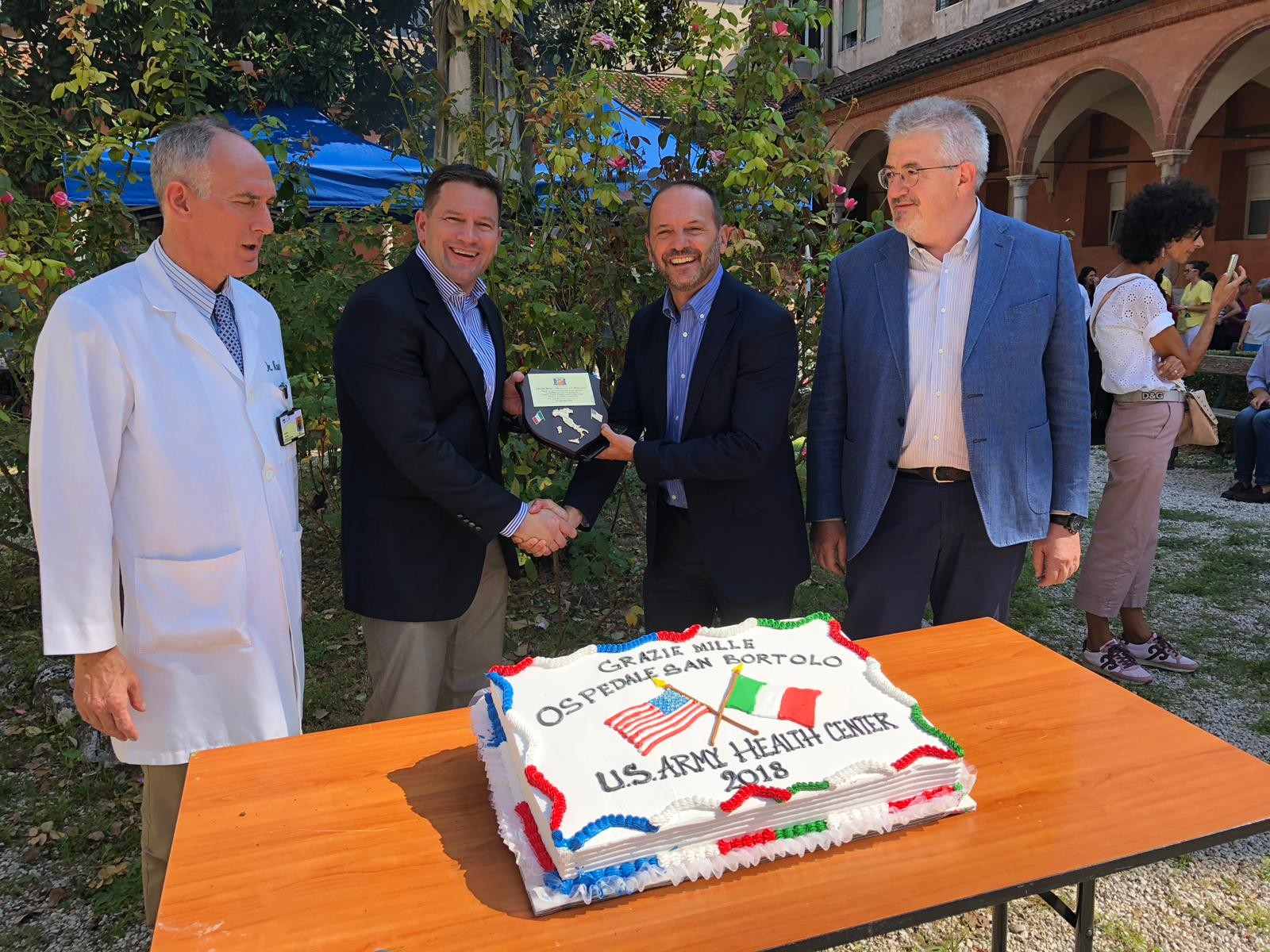 U S Army Health Clinic Vicenza Brings Hometown Hospitality To Local