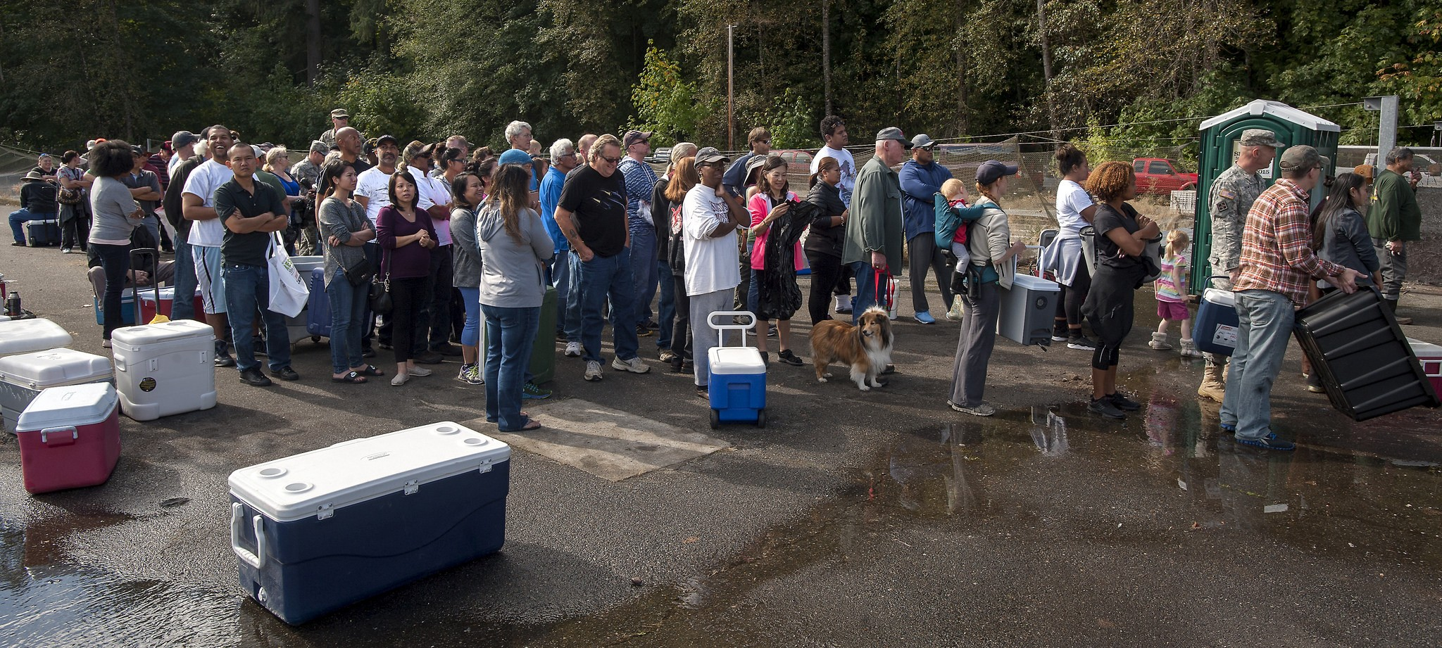 Roaring judy fish hatchery salmon giveaway 2018