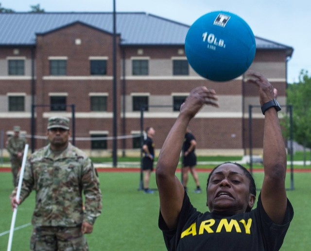TRADOC ACFT Exhibition - Standing Power Throw