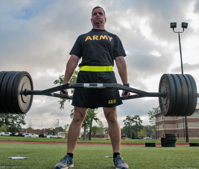 TRADOC ACFT Exhibition - Strength Deadlift