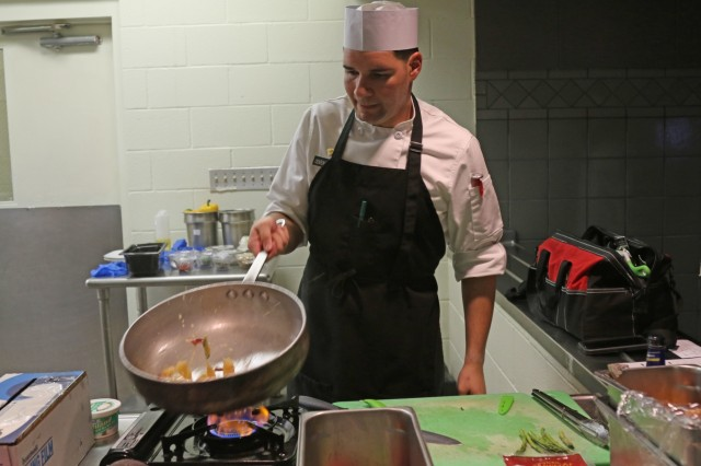 'Brave Rifles' infantryman challenges cooks to culinary cook-off