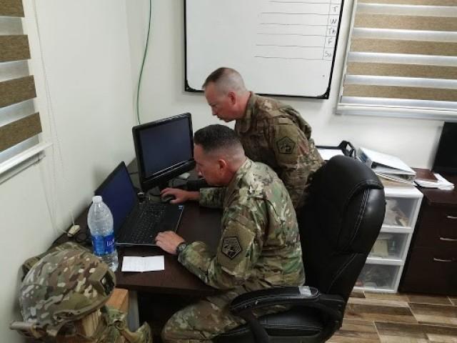 Regional Cyber Center Southwest Asia prepares cyber units for deployment