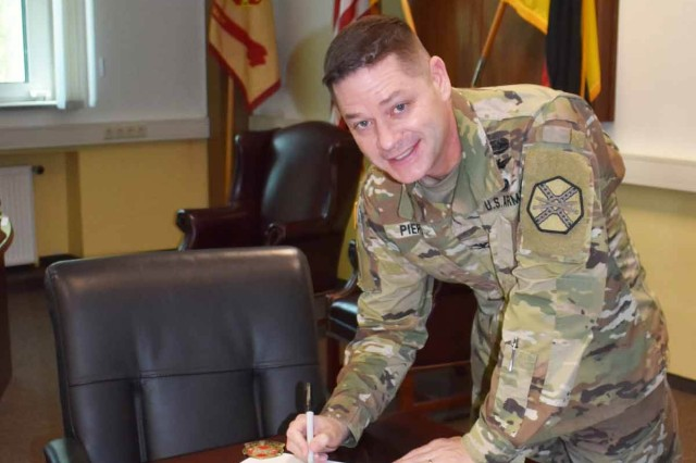 "ANSBACH, Germany -- Commanding General for the 7th Army Training Command (7th ATC), Brig. Gen. Christopher LaNeve at Grafenwoehr and U.S. Army Garrison Ansbach (USAG Ansbach) Col. Steven Pierce put their signatures to a joint Proclamation making the last week of Sept. 2018 PLASTIC-FREE WEEK in Ansbach. The proclamation was presented to the public during a launch ceremony at the Exchange and Commissary complex at Urlas Kaserne Sunday, Sept. 23, then posted online, appearing on social media venues across the community. Throughout the week many local organizations made a concentrated effort to reduce plastic, initiating programs and offering easy alternatives to plastic products. Sturdy cotton reusable ""Plastic Buster"" bags were distributed throughout the week, free of charge to all who asked for them in many USAG Ansbach facilities."