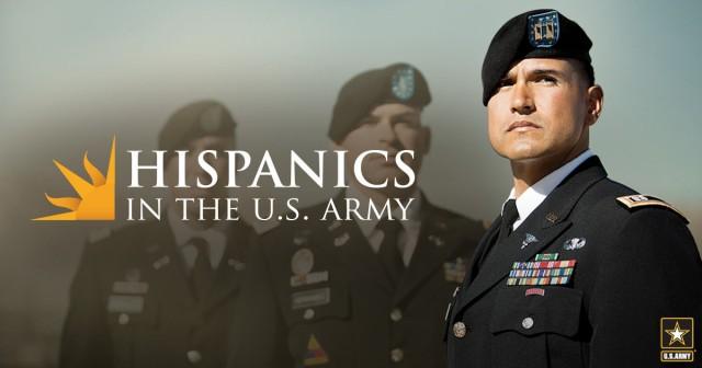 Hispanics in the Army