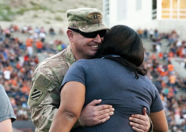 WBAMC Soldier surprises family after 10-month deployment
