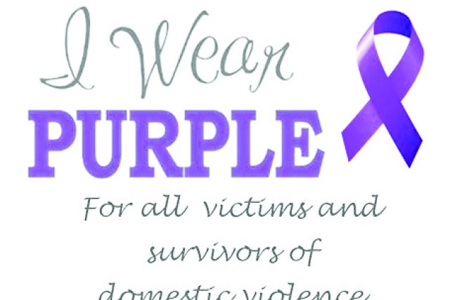 Purple For A Purpose Stands Against Domestic Violence Article