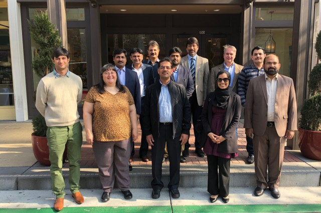 Representatives from Pakistan, the U.S. Army Corps of Engineers, and U.S. State Department during a visit to the United States to share water resources expertise at the USACE Institute for Water Resources Hydrologic Engineering Center in Davis, California