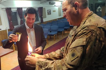 Chaplain helps Jewish Soldiers celebrate their faith, holidays while in Afghanistan