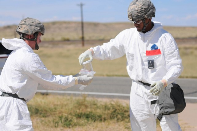 20th CBRNE Soldiers Participate in Prominent Hunt Nuclear Forensics Exercise