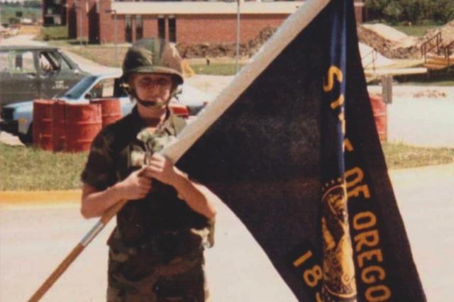 Jeane Saari at Fort Riley, Kansas, 1985 (Photo courtesy Jeane Saari-Ruiz)