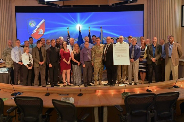 The United States Strategic Command's Joint Ballistic Missile Defense Education and Training Center, operated by the Joint Functional Component Command for Integrated Missile Defense at Schriever Air Force Base, is the first joint organization designated as a Joint Center of Excellence. (Courtesy photo)