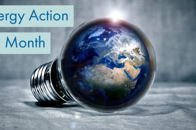 October is Energy Action Month and focus is placed on resource management now and throughout the year.