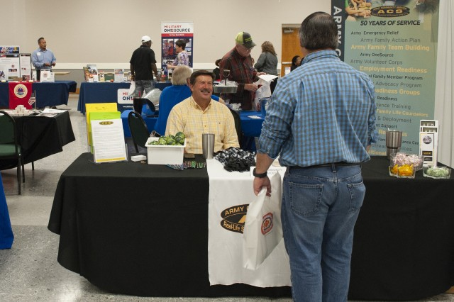 Anniston Army Depot hosted a Supermarket of Benefits and Suicide Prevention Fair at the Anniston Meeting Center Sept. 28.