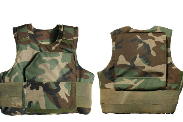 The Natick Soldier Research, Development and Engineering Center developed Ranger Body Armor (pictured here) that was used and helped save lives during the Battle of Mogadishu, which took place 25 years ago on Oct. 3-4 1993. The battle was the subject of journalist Mark Bowden's book Black Hawk Down, which was later made into a movie with the same name.