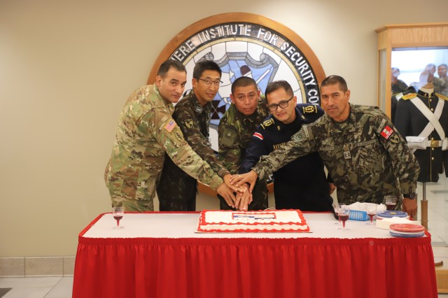 FORT BENNING, Ga. (Oct. 5, 2018) -- The Maneuver Center of Excellence and the Western Hemisphere Institute for Security Cooperation hosted a national Hispanic Heritage Month celebration Sept. 21. (Courtesy photo)