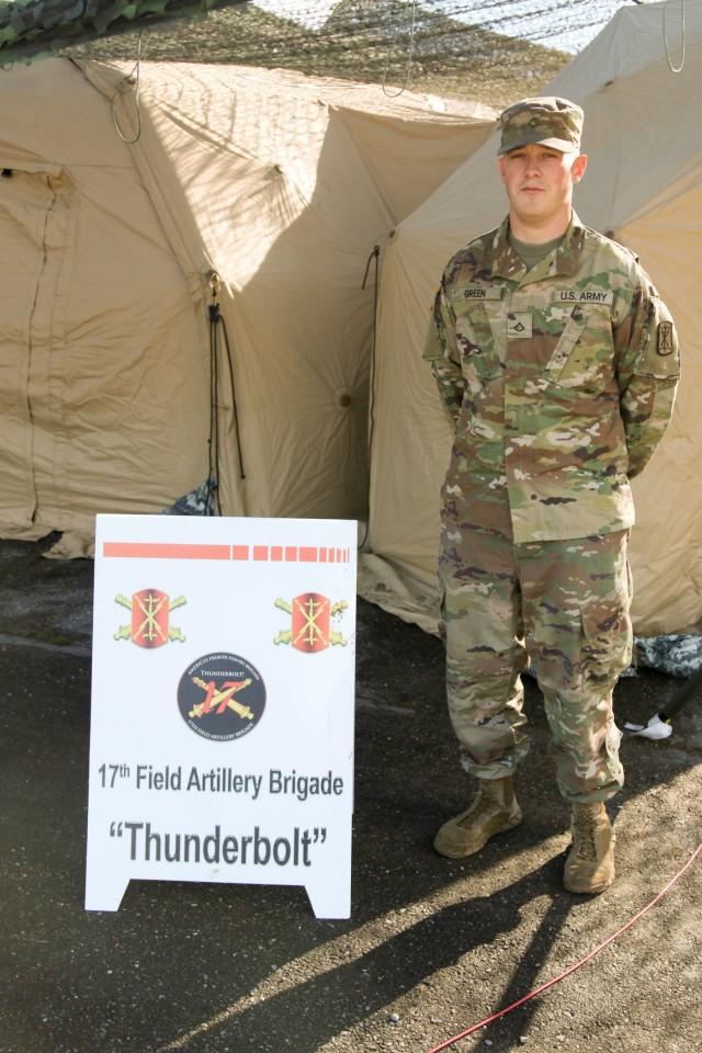 Soldier Spotlight: Meet Pfc. Caleb Green
