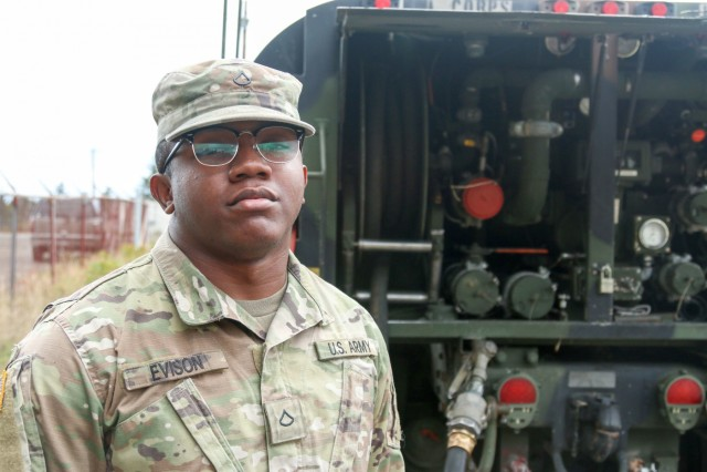 Soldier Spotlight: Meet Pfc. Uhuru Evison