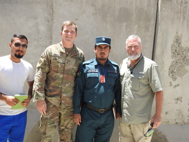 Blackhawk Scouts Serving as Afghan National Police Advisors