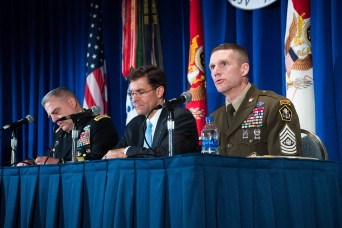 Senior leaders tackle Army Family concerns in town hall